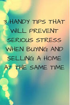 If you're in the process of simultaneously buying and selling a home in Tucson, Az, you may be in for the most stressful experience of your life. One UK-based real estate survey of over two thousand people found that buying and selling a house is more stressful than divorce, bankruptcy, a death in the family, becoming a parent for the first time, and even planning a wedding! It's not easy, but staying calm will help you to plan for your upcoming home purchase and sale and make the process…