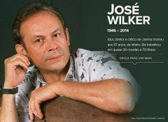 """O ator e diretor José Wilker morreu, aos 67 anos, na madrugada deste sábado (05/04/2014) no Rio. Ele sofreu um infarto. Wilker ficou conhecido por trabalhos marcantes em novelas como """"Roque Santeiro"""", em que interpretou o personagem-título, e """"Senhora do destino"""", em que interpretou o bicheiro Giovanni Improtta. No cinema, fez filmes como """"Bye bye Brasil"""" e viveu o Vadinho de """"Dona Flor e seus dois maridos"""". 07/04/2014."""