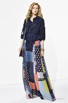 Женская мода: Diane von Furstenberg, Resort 2016