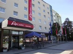 Hanau am Main Arcadia Hotel Hanau Germany, Europe Arcadia Hotel Hanau is a popular choice amongst travelers in Hanau am Main, whether exploring or just passing through. Featuring a complete list of amenities, guests will find their stay at the property a comfortable one. To be found at the hotel are free Wi-Fi in all rooms, 24-hour front desk, 24-hour room service, facilities for disabled guests, Wi-Fi in public areas. Guestrooms are fitted with all the amenities you need for ...