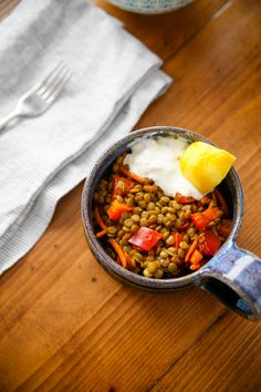 Remember a few weeks ago when I had the Moroccan Lentil Salad at Claire's house? She came over last week so we could make it together and share the official recipe. It's a good one! I met Claire at the gym last fall when she was new to town. She now teaches Afterburn, and she...