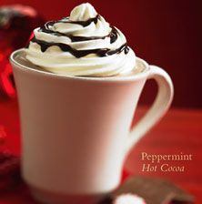 Hot Chocolate Cupcakes With Mint Kissed Centers Recipes — Dishmaps