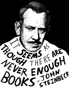 Steinbeck quote about reading.