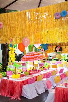Southern Blue Celebrations: Tropical / Luau Party Ideas