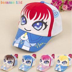 d92b7353088 2019 Adjustable Kid Baseball Cap Unisex Snapback Hip Hop Hat Summer Children  Sunhat Mesh Cap Baby Cartoon Ball Hat From Jessiebee