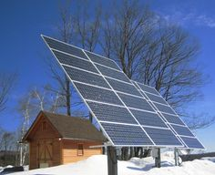 Backwoods Solar (Idaho): Off-grid home in VT