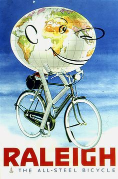 Raleigh Bicycle Advert- World | by Spacecat, San Francisco