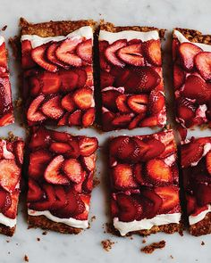I'm not one for hyperbole, especially when it comes to food, but this truly is the simplest strawberry tart, and it's more delicious than the sum of its parts. This tart is all about the contrasting textures of crisp crust, creamy mascarpone, and juicy strawberries, so make sure to assemble the tart right before you serve it so the crust doesn't get soggy.