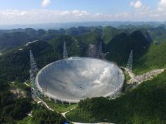 Measuring 1,640 feet across, the massive device will scour the skies for signs of life and new galaxies