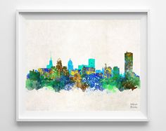 BUFFALO skyline★ LIMITED TIME ONLY ★ BUY 2 GET 3RD FREE INSTRUCTION ★ 1. Add any 2 prints to your cart, Choose 3RD free print. 2. Free print must be Equal or