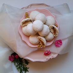 Çay saatlerinin vazgeçilmez lezzeti Elmalı Kurabiye, Recete sevgili Esra'ya neomutfak.com ait, bu enfes kurabiyelerin hamuru saf sal...