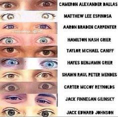 magcon boys eyes - Google Search