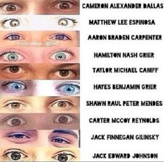 magcon boys eyes - Google Search
