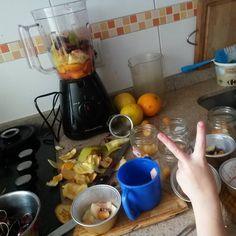 Batidos de frutas para merendar!todo orgánico!.