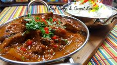 headbccr Easy Cooking, Cooking Time, Prawn Curry, Beef Curry, Coconut Rice, Slimming World Recipes, How To Cook Chicken, Slow Cooker, Good Food
