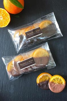 Candied orange slices in luxury Belgian milk or dark chocolate UK gifts corporate Chocolate Dipped Fruit, Chocolate Bark, Chocolate Orange, Chocolate Gifts, Belgian Chocolate, Artisan Chocolate, Candied Orange Slices, Snack Recipes, Dessert Recipes