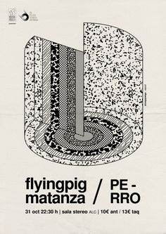 Poster for Flyingpigmatanza & Perro. autofocus14'