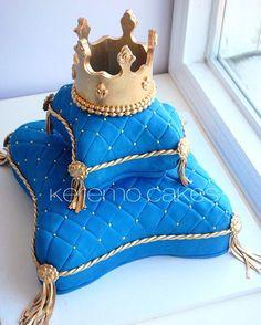 Prince Birthday, Baby Boy Birthday, Birthday Cake, Bridal Shower Cakes, Baby Shower Cakes, Baby Boy Shower, Prince Cake, Royal Prince, Tiara Cake