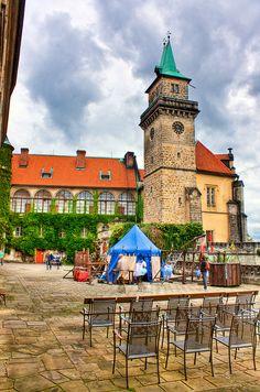 Hruba Skala Castle HDR