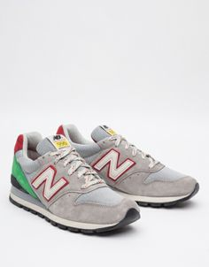 new balance 996 grey red curtains