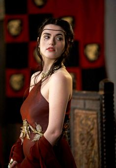 Katie McGrath as Morgana in Merlin - when she walked in, my breath hitched xD