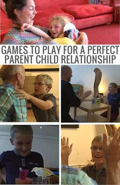 I love playing games with my kids, and here are some great ideas for simple games that work well with them AND help build a great relationship with them too.