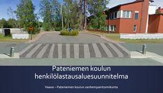 Suunnittelin lähikoulullemme henkilölastausalueen - koulullamme on vain viiden auton levike ja pysäköintiin käytetään laittomasti pyörätietä ja viheraluetta. Oulun kaupunki on huomioinut suunnitelman ja koulun vanhempaintoimikunta odottaa jatkosuunnitelmia ja toimenpiteitä.