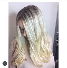 ashy rooted blonde  hairbyrachel.sd