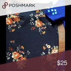 ISO Xs floral Lularoe Cassie (this exact pattern) Looking for this exact lularoe Cassie skirt LuLaRoe Skirts Pencil