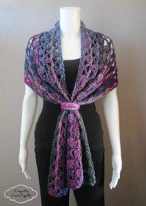 Unique Lace Crochet Wrap