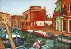 Burano 1 . . Venetian Island. . .Nora Lemmon by AfricanGranny