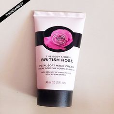THE BODY SHOP BRITISH ROSE PETAL - SOFT HAND CREAM