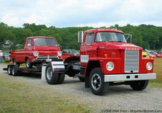 1964 Dodge A-100 Pickup & 1971 Dodge C-1000 Tractor | Flickr - Photo Sharing!