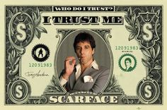 Scarface - Dollar - Official Poster