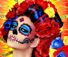 day of the dead makeup - Bing Images