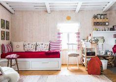 22 sqm winter mini cottage We have a home Scandinavian Home, Bench, Loft, Cottage, Cabin, Inspiration, Furniture, Home Decor, Homes