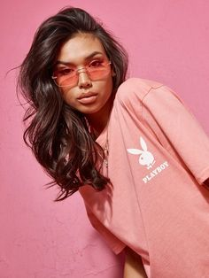 Playboy Logo, Fashion Outfits, Womens Fashion, Fashion Trends, Oversized Tee, Missguided, Looking For Women, Adidas Jacket, Clothes For Women