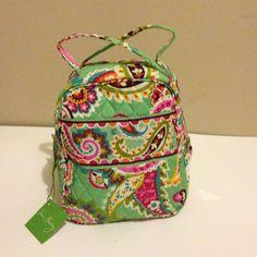 New With Tag Vera Bradley Lunch Bunch box bag In Tutti Frutti #VeraBradley