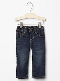 1969 knit pull-on straight jeans