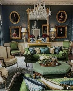 is back in Ireland sharing photos from Capard House. I'm obsessed with this house. I wrote about the house last year:… Interior Design Living Room, Living Room Designs, Living Room Decor, Interior Decorating, Living Area, Interior Ideas, Interiores Art Deco, Interiores Design, Classic Living Room