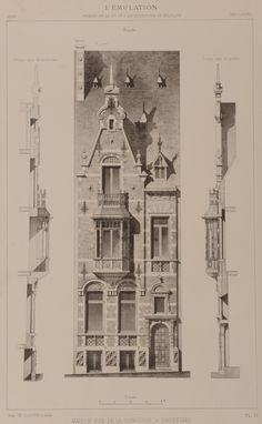 Ixelles - Rue de la Concorde 43 - BRUNFAUT Jules