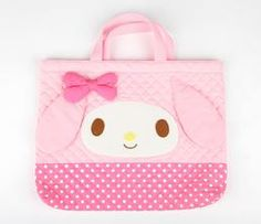 My Melody Die-Cut Quilted Tote Bag