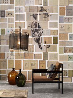 NLXL Biblioteca wallpaper EKA-01 by Ekaterina Panikanova at Wallpaperwebstore