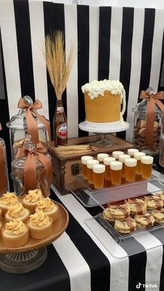 40th Birthday Themes, Beer Birthday Party, 40th Birthday Decorations, 30th Party, 30th Birthday Celebration Ideas, Mens 50th Birthday Cakes, 30th Birthday Ideas For Men Party, 30th Birthday Ideas For Men Surprise, Birthday Video