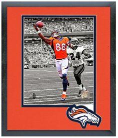 "Demaryius Thomas 2013 Denver Broncos-11"" x 14"" Framed & Matted ""Spotlight Photo"""