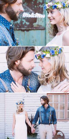 Sommerlich-Rustikal – Ein Hochzeitskonzept von Katinka Stone Photography