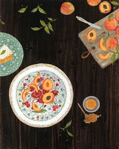 nectarines by beccastadtlander
