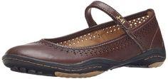 J-41 Women's Milan-Barefoot Mary Jane Flat Shoes Burgundy Size 7.0M