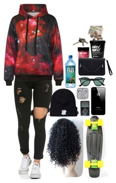 """""""My Dream OOTD #3"""" by cosmic-calum ❤ liked on Polyvore featuring Ray-Ban and Avon"""