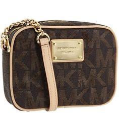 db61f733fb00 MICHAEL Michael Kors MK Logo crossbody bag. Good condition 100% authentic!!  Michael